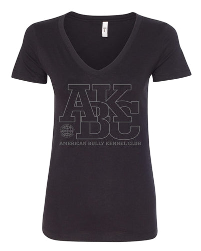 ABKC Varsity Women's V Neck Shirt