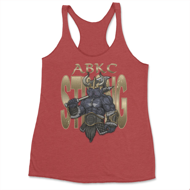 ABKC STRONG VIKING LADIES TANK TOP