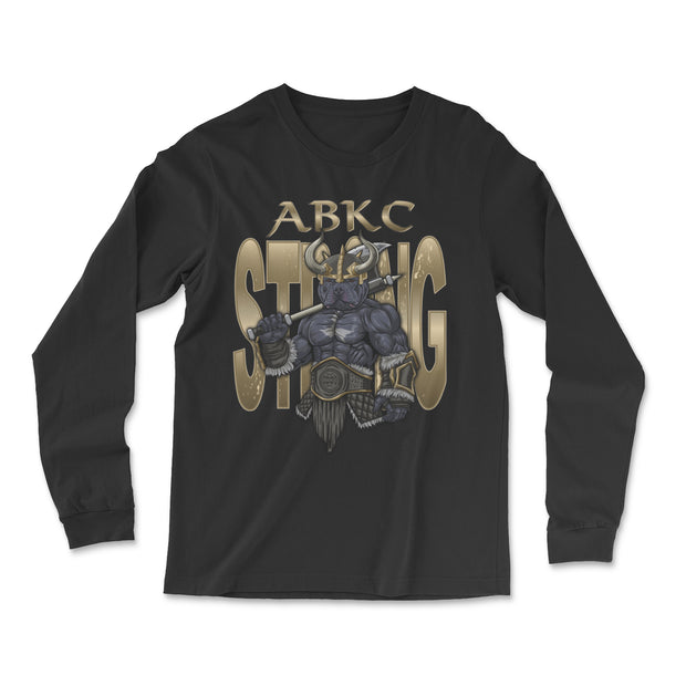 ABKC STRONG VIKING MEN'S LONG SLEEVE SHIRT