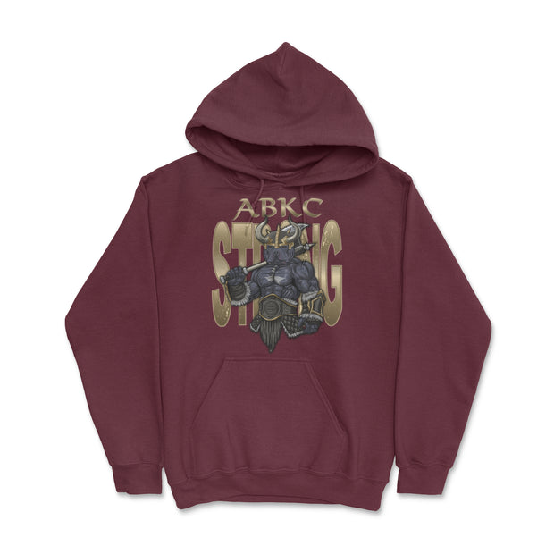 ABKC STRONG VIKING ADULT UNISEX PULLOVER HOODIE