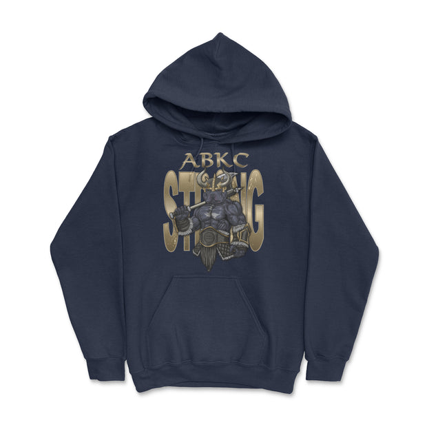 ABKC STRONG VIKING UNISEX PULLOVER HOODIE