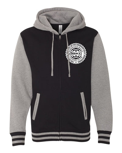 ABKC Official Seal Unisex Varsity Jacket with Hood