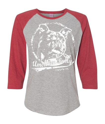 All American Women's Baseball Tee