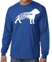 American Bully Supply Co. Logo-Mens-Long Sleeve
