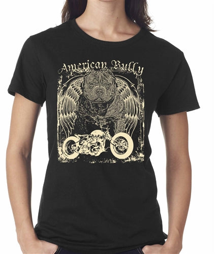 Americana Women's Chopper Pitbull T shirt