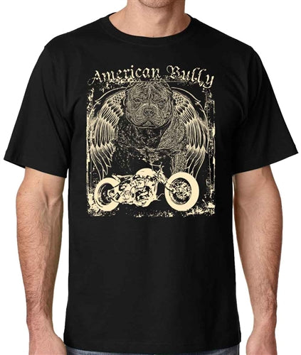Americana Men's Chopper Pit Bull T Shirt