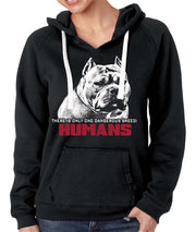 Ban Stupid Humans Womens Pullover Hoody