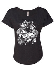 Bully Lover Women's Flowy Shirt