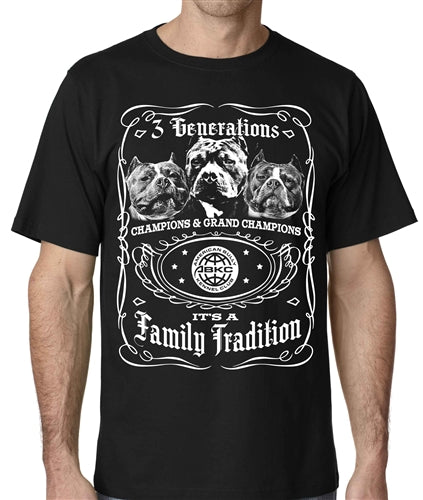 Family Tradition Mens ABKC T Shirt