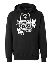 Frenchie Mama Unisex Fit Sport Lace Hoodie