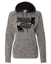 Frenchie Mama Women's Cosmic Contrast Hoodie