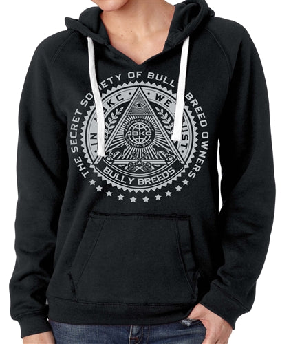 IN ABKC WE TRUST WOMEN'S PULLOVER HOODY