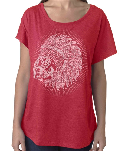 Indian Bully Club Women's Flowy Shirt