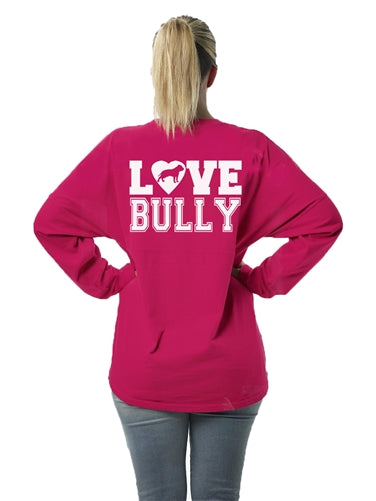 Love Bully Women's Long Sleeve Jersey Unisex Fit