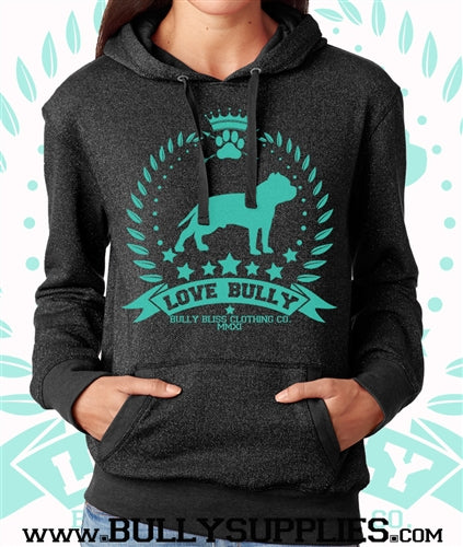 Love Bully Authentic Shimmer Pullover Hoody