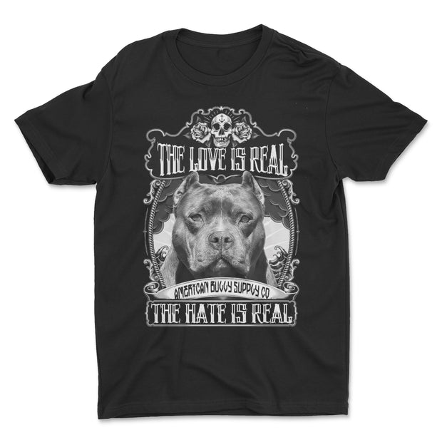 The Love Is Real Men's T Shirt