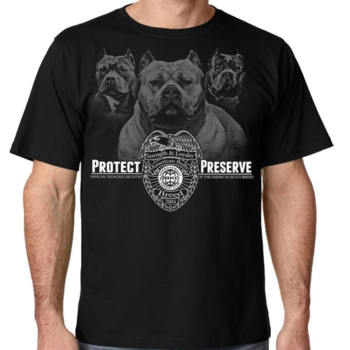 Protect And Preserve American Bully Kennel Club Shirt