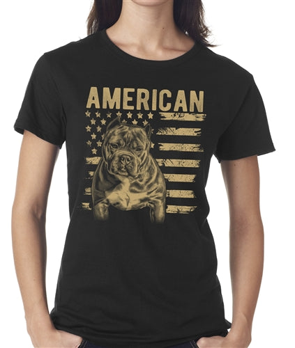 Patriotic Women's Bully T Shirt