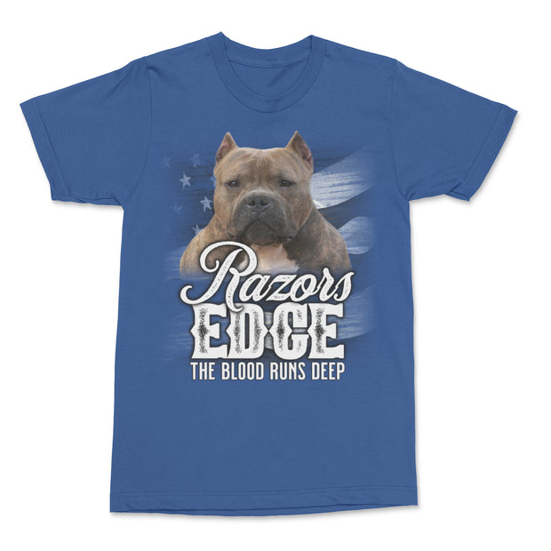 Razors Edge Blood Runs Deep Men's Shirt