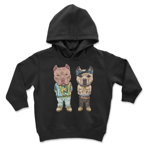 Tupac and Biggie American Bully Youth and Toddler Pullover Hoodie