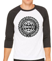 ABKC Seal Baseball Raglan for Men