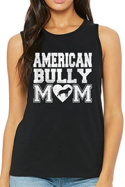 American Bully Mom Muscle Tank for Women