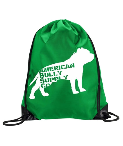 American Bully Supply Co. Logo Cinch Backpack