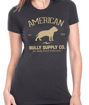 Am. Bully Supply Co. Anniversary Logo Women's Crew Neck
