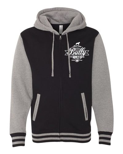 Bully Brewing Company Varsity Hooded Jacket Unisex