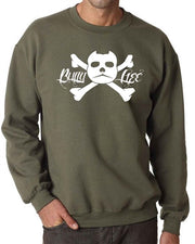 Bully Life Adult Crew Neck Sweatshirt