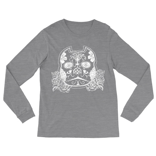 Celebration Sugar Bully Skull Unisex Fit Long Sleeve Shirt