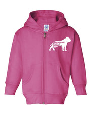Fed Up Toddler Zip Up Hoody
