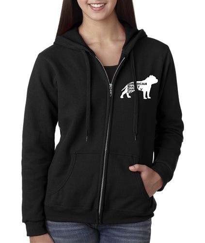Fed Up Women's Full Zip Up Hoody
