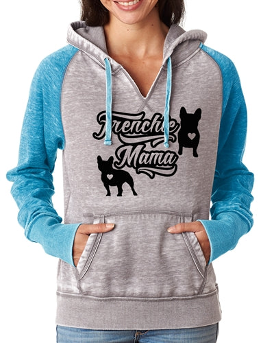 Frenchie Mama Zen Pullover Hoodie Frenchie Hoodie