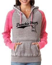 Frenchie Mom Zen Pullover Hoodie Frenchie Hoodie