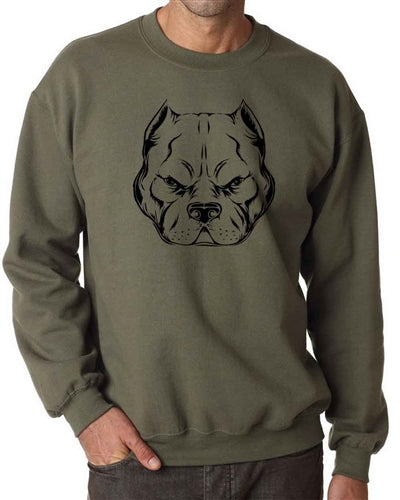 Hard Head Adult Crew Neck Sweatshirt