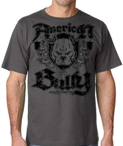 Heraldry Shield Mens Pit Bull Bully Tshirt