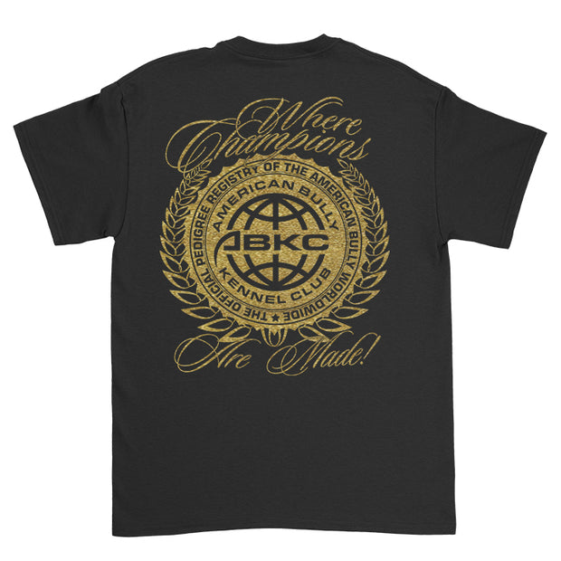 ABKC Where Champions Are Made Gold Edition Adult T Shirt