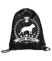 Love Bully Wreath Cinch Backpack