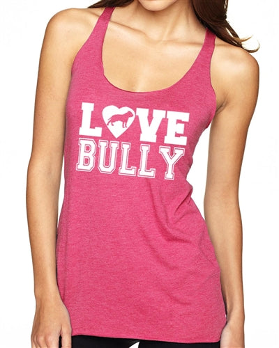 Love Bully Tri Blend Tank Top