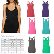 Love Frenchy Tri Blend Tank Top
