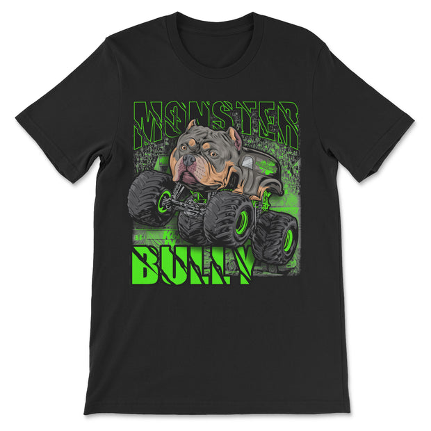 Green Monster Truck Bully Youth, Toddler and Infant T Shirt
