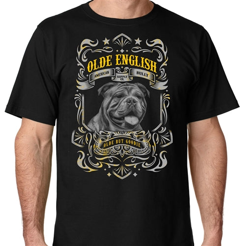 Olde But Goodie Mens Olde English Crew Neck Shirt