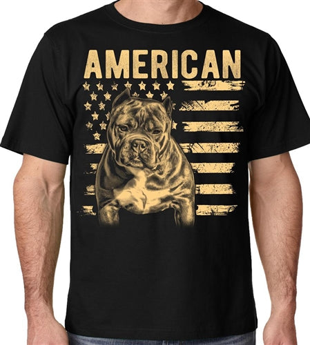 American Bully Supply Co. Patriotic Breed Crew Neck Shirt