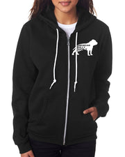 Stop Bullying My Breed Unisex Fit Full Zip Up Hoodie