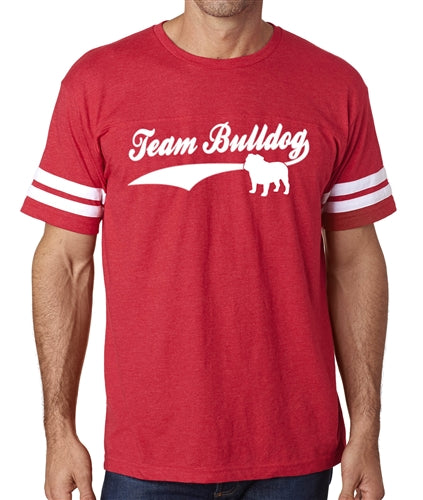 Team Bulldog Men's Football Jersey Shirt