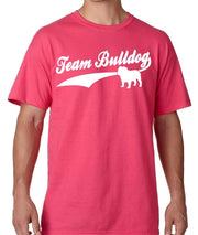 Team Bulldog Men's Bulldog Crew Neck Shirt