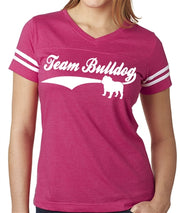 Team Bulldog Women's Football Jersey Bulldog Shirt