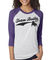 Team Bully Women's Bully Baseball Tee  Sizes XS-3X Unisex Sizing