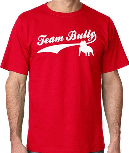 Team Bully Mens Pit Bull Crew Neck Shirt